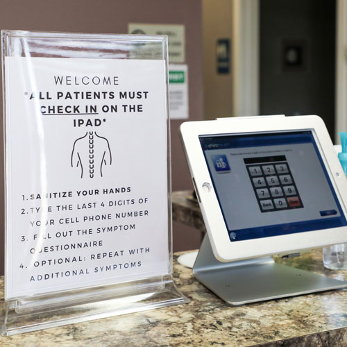 Chiropractic Palatine IL Check-In at Rand Chiropractic Center