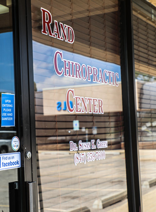 Chiropractic Palatine IL Front Door of Rand Chiropractic Center